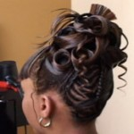 TOMEKA'S BEAUTY HOW TO CREATE AN UP-DO