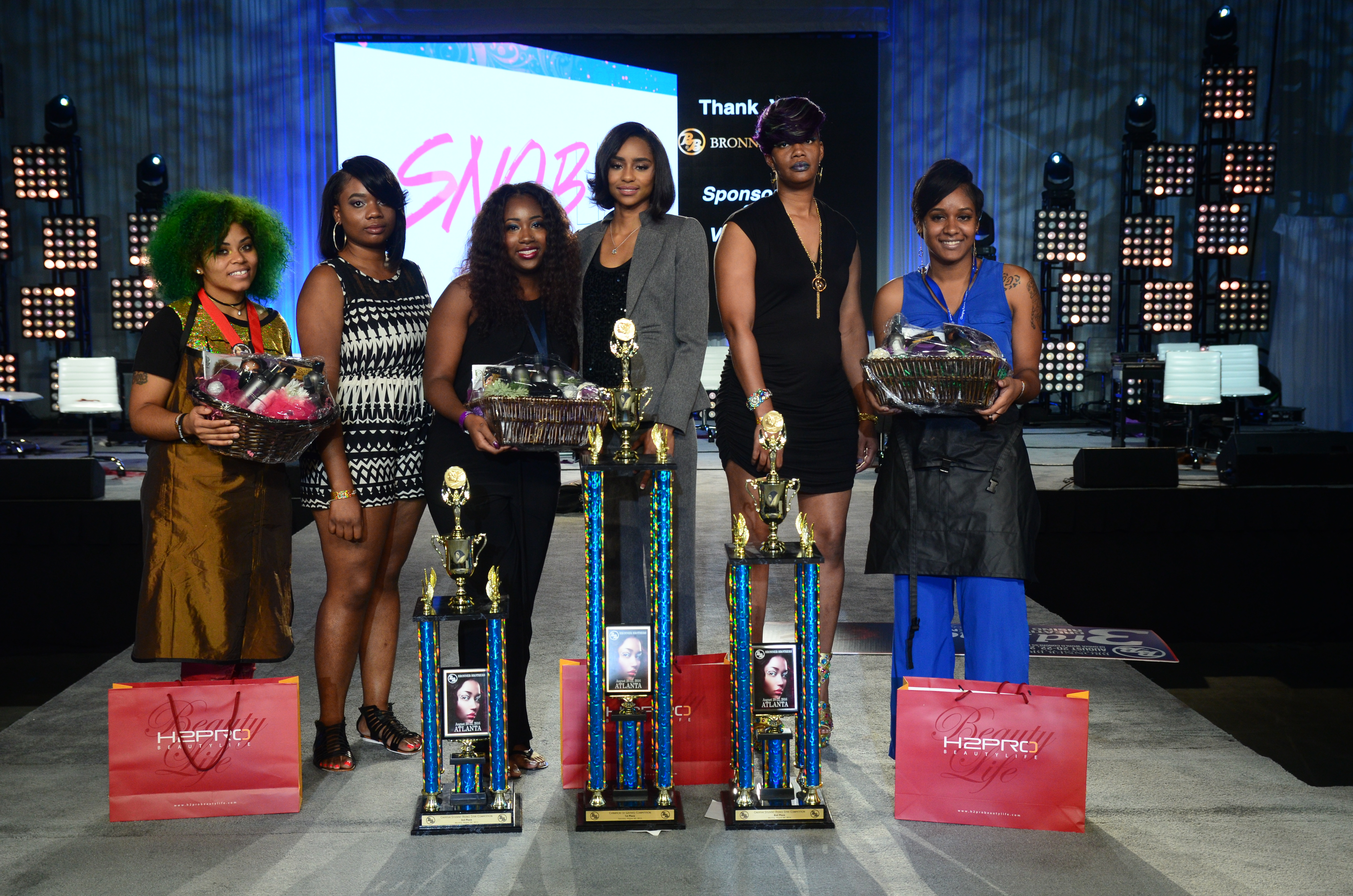 August 2016 Compeion Winners Bronner Bros