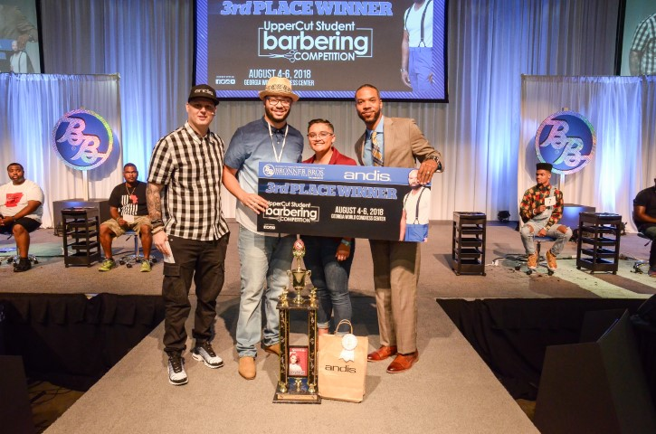 Andis Uppercut Student Barbering Competition Bronner Bros